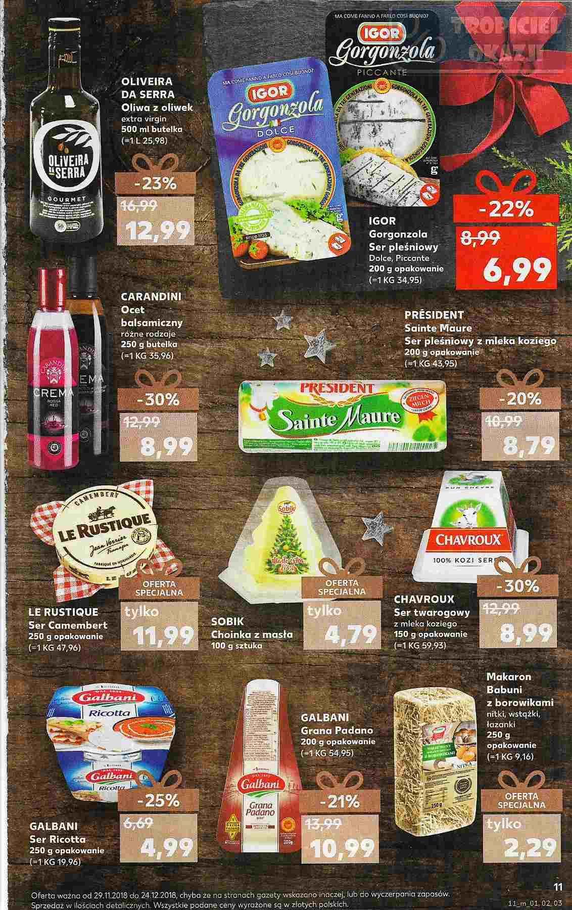 Gazetka promocyjna Kaufland do 24/12/2018 str.11