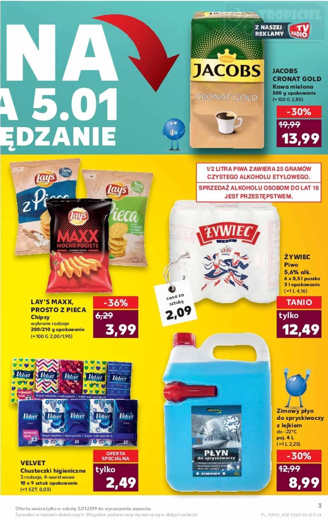 Gazetka promocyjna Kaufland do 09/01/2019 str.2