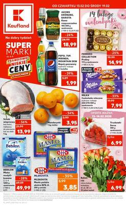 Kaufland gazetka  - od 13/02/2020 do 19/02/2020