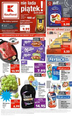Kaufland gazetka - od 25/07/2019 do 31/07/2019