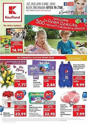 Kaufland gazetka - od 24/05/2018 do 30/05/2018