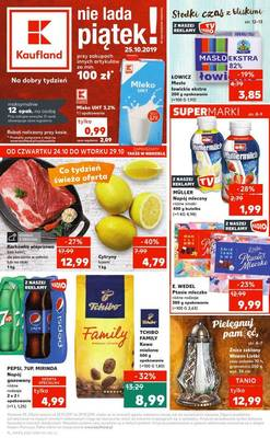 Kaufland gazetka - od 24/10/2019 do 30/10/2019