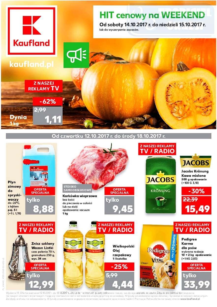 Gazetka promocyjna Kaufland do 18/10/2017 str.0