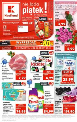 Kaufland gazetka - od 14/02/2019 do 20/02/2019
