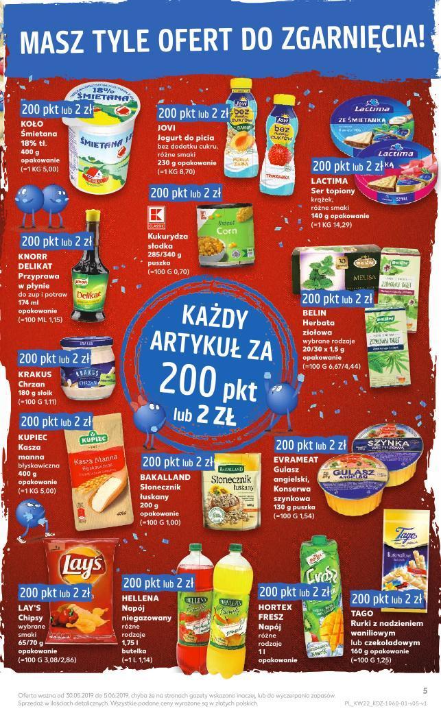 Gazetka promocyjna Kaufland do 05/06/2019 str.4