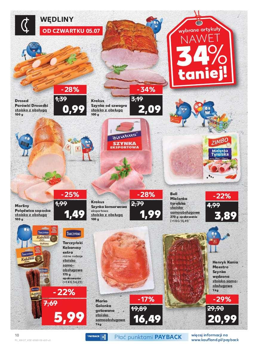 Gazetka promocyjna Kaufland do 11/07/2018 str.9