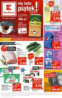 Kaufland gazetka - od 14/03/2019 do 20/03/2019