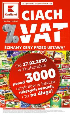 Kaufland gazetka  - od 27/02/2020 do 04/03/2020
