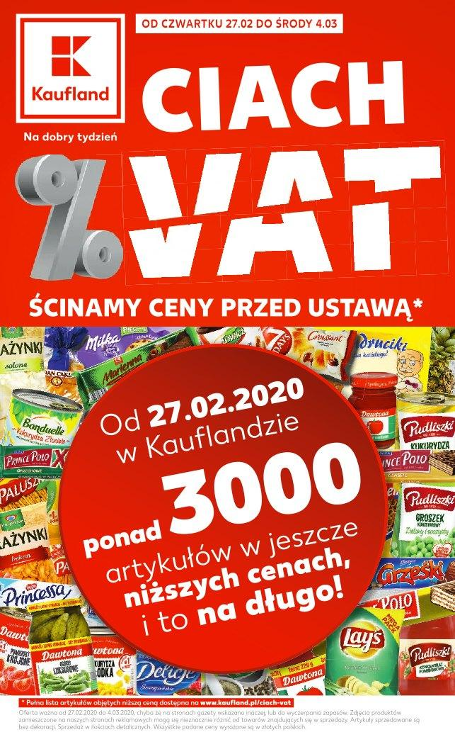 Gazetka promocyjna Kaufland do 04/03/2020 str.1