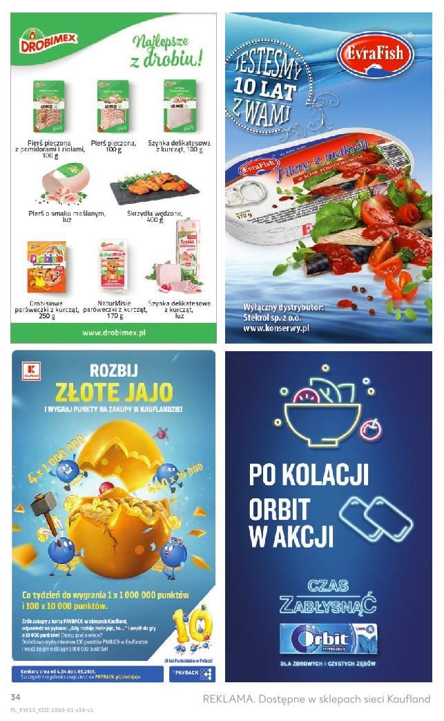 Gazetka promocyjna Kaufland do 16/04/2019 str.33