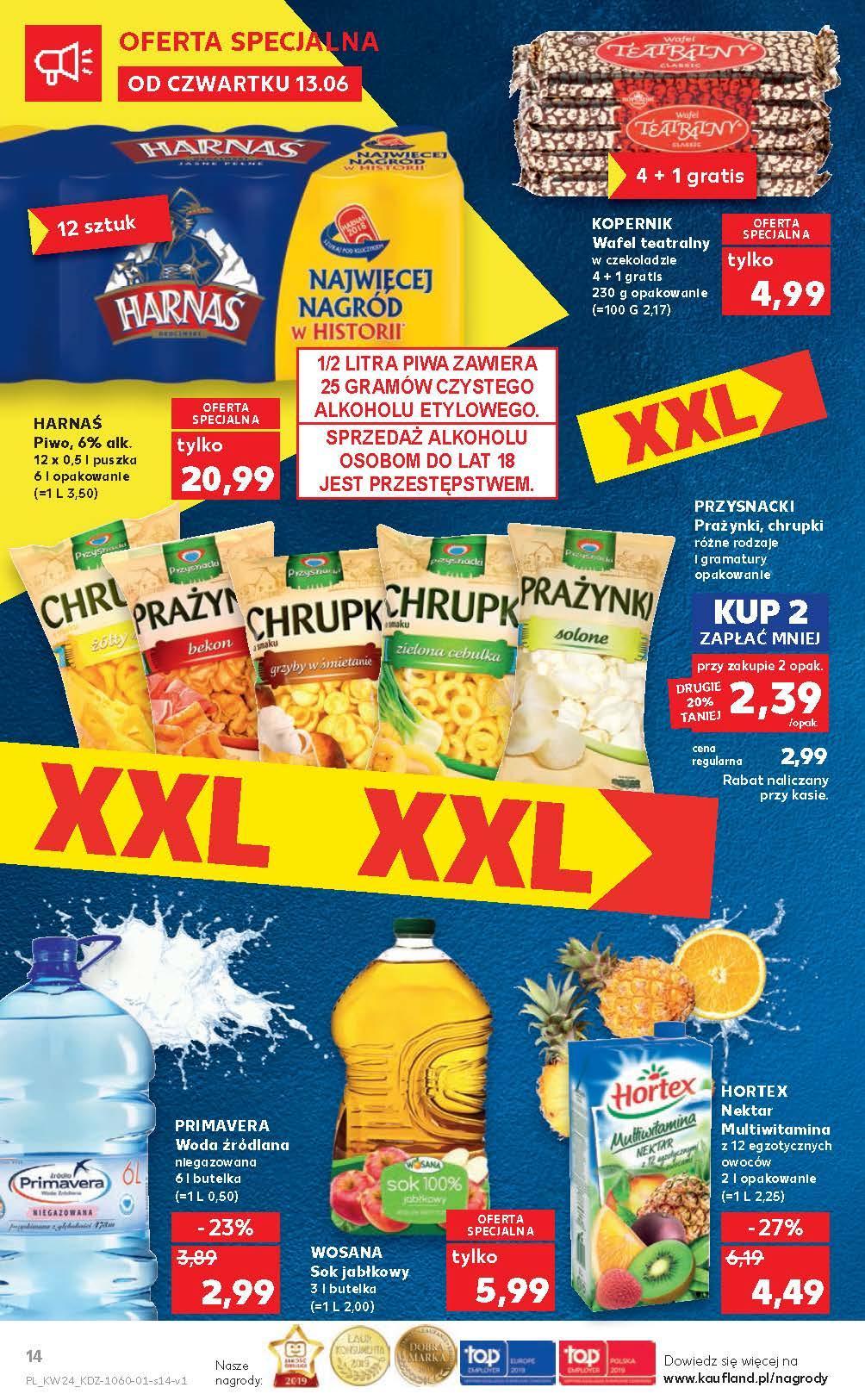 Gazetka promocyjna Kaufland do 19/06/2019 str.14