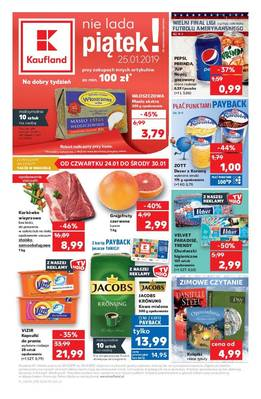 Kaufland gazetka - od 24/01/2019 do 30/01/2019
