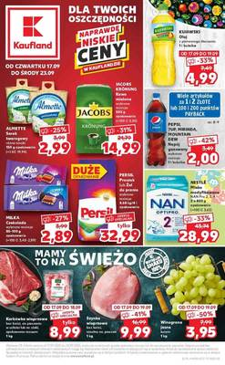 Kaufland gazetka - od 17/09/2020 do 23/09/2020