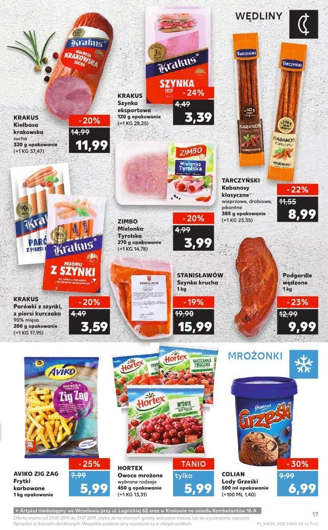 Gazetka promocyjna Kaufland do 31/07/2019 str.16
