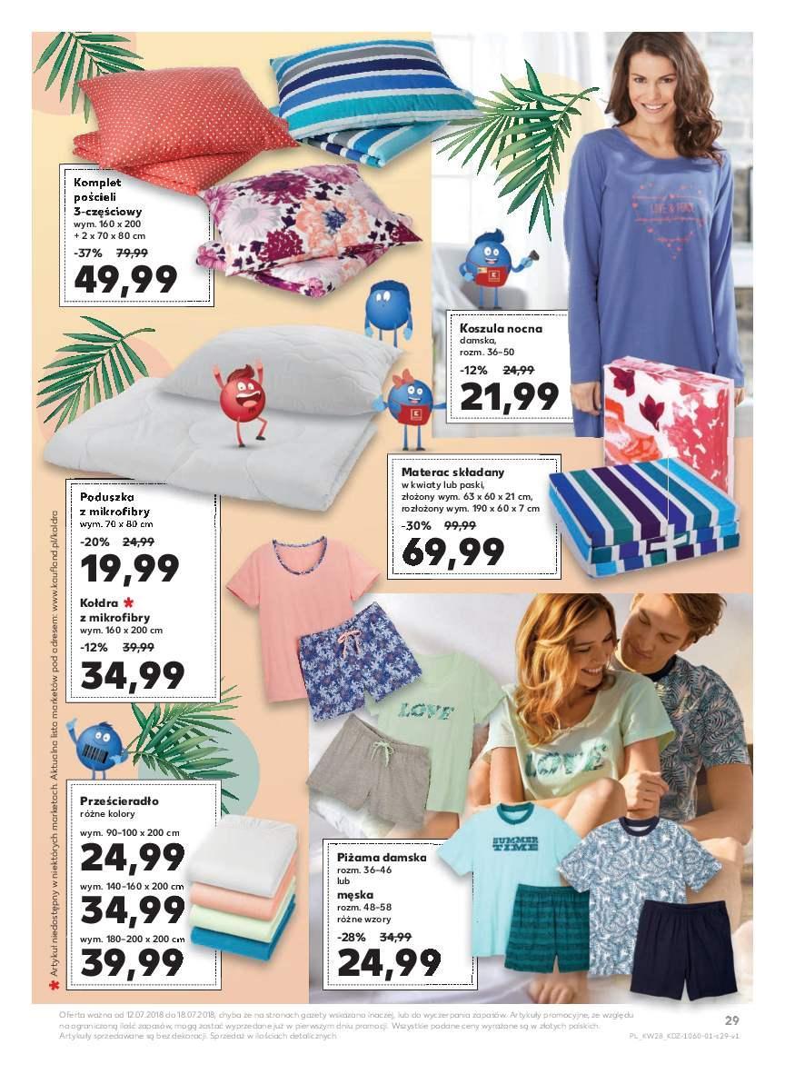 Gazetka promocyjna Kaufland do 18/07/2018 str.29
