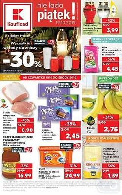 Kaufland gazetka - od 18/10/2018 do 24/10/2018