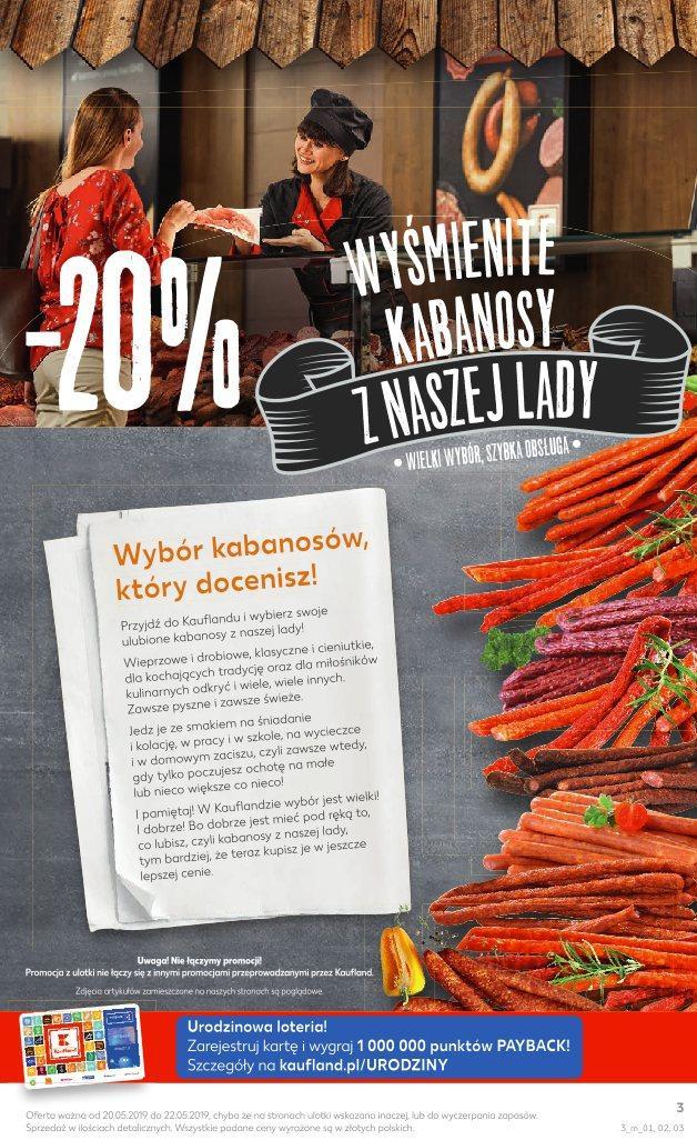 Gazetka promocyjna Kaufland do 22/05/2019 str.2