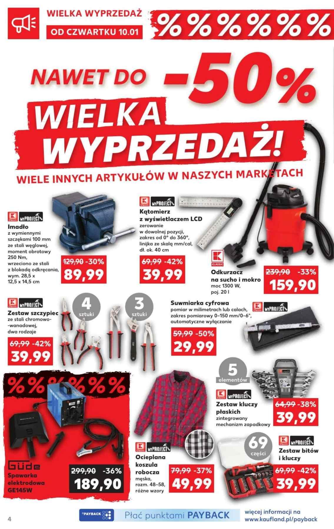 Gazetka promocyjna Kaufland do 16/01/2019 str.4