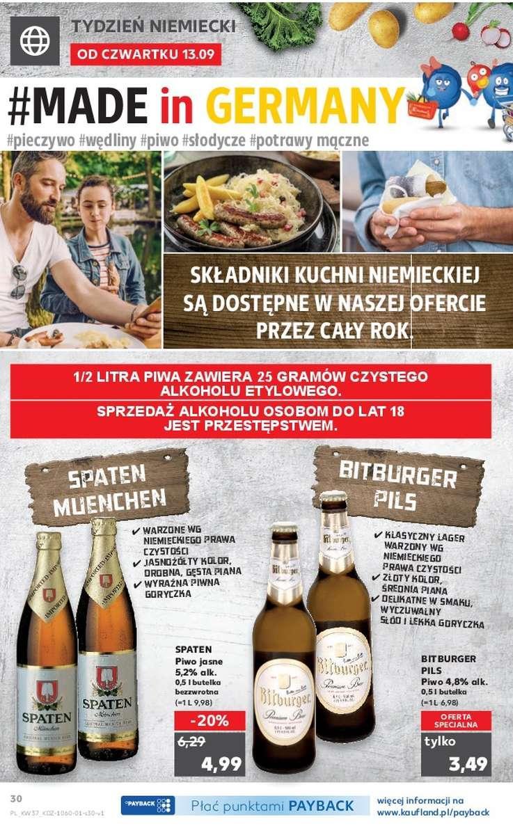 Gazetka promocyjna Kaufland do 19/09/2018 str.30