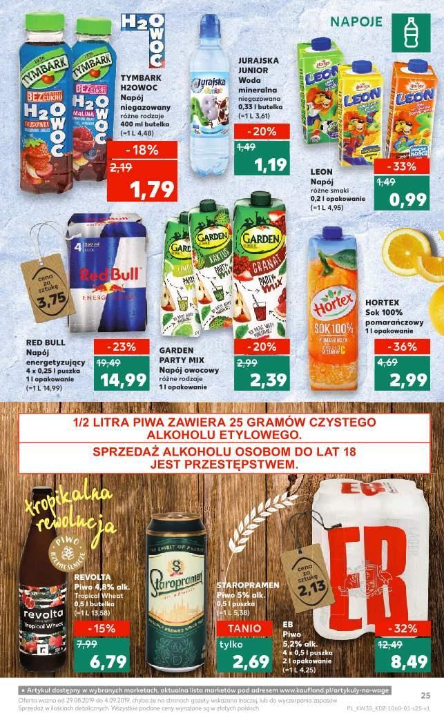 Gazetka promocyjna Kaufland do 04/09/2019 str.25
