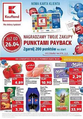 Kaufland gazetka  - od 26/04/2018 do 02/05/2018