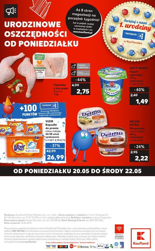 Gazetka promocyjna Kaufland do 22/05/2019 str.31