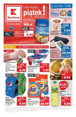 Kaufland gazetka  - od 17/01/2019 do 23/01/2019