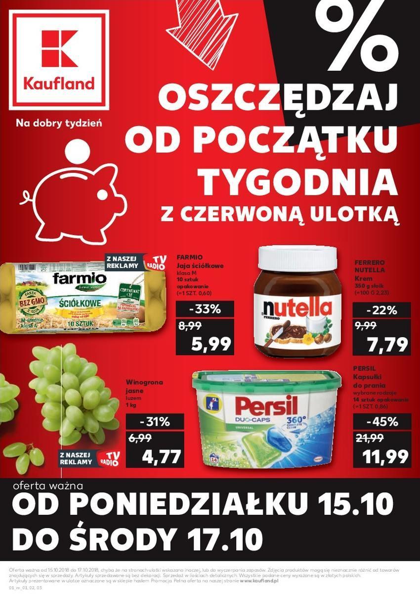 Gazetka promocyjna Kaufland do 17/10/2018 str.0