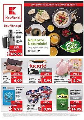 Kaufland gazetka  - od 22/02/2018 do 28/02/2018