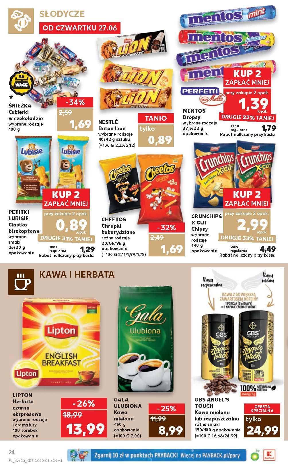 Gazetka promocyjna Kaufland do 03/07/2019 str.23