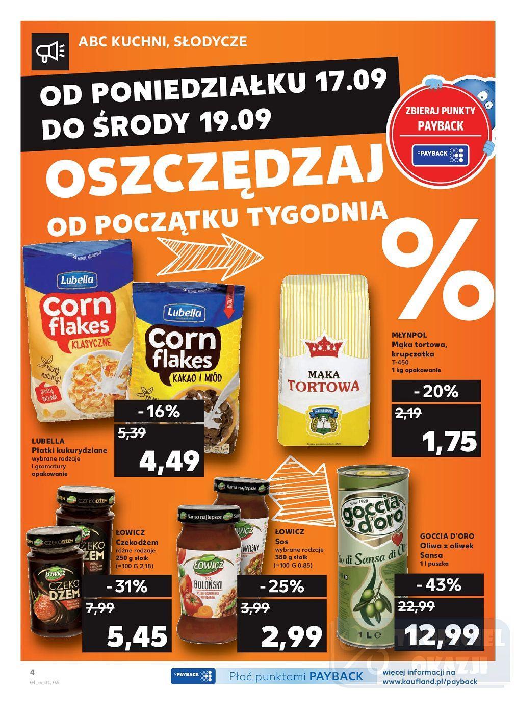 Gazetka promocyjna Kaufland do 19/09/2018 str.4
