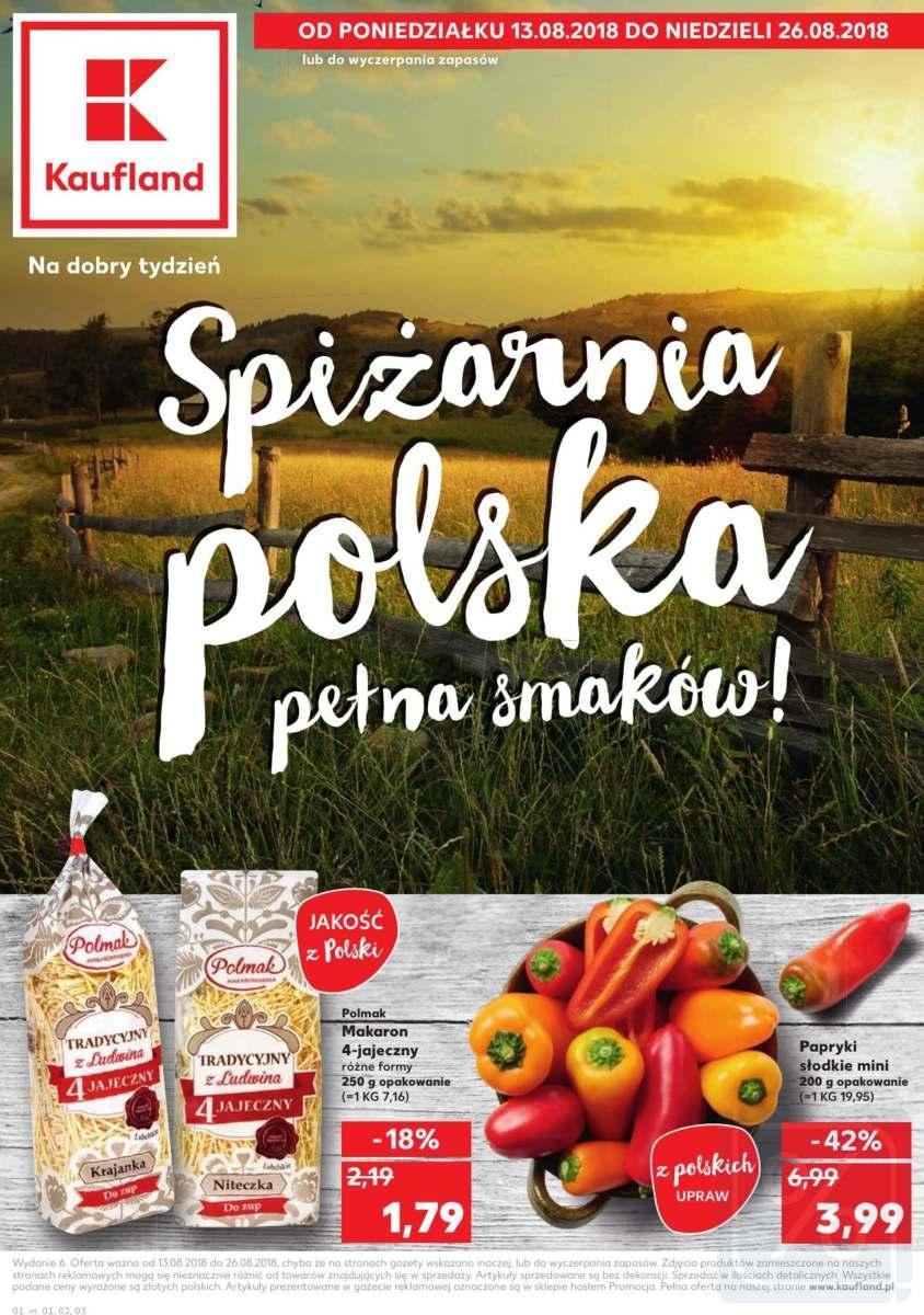 Gazetka promocyjna Kaufland do 26/08/2018 str.1