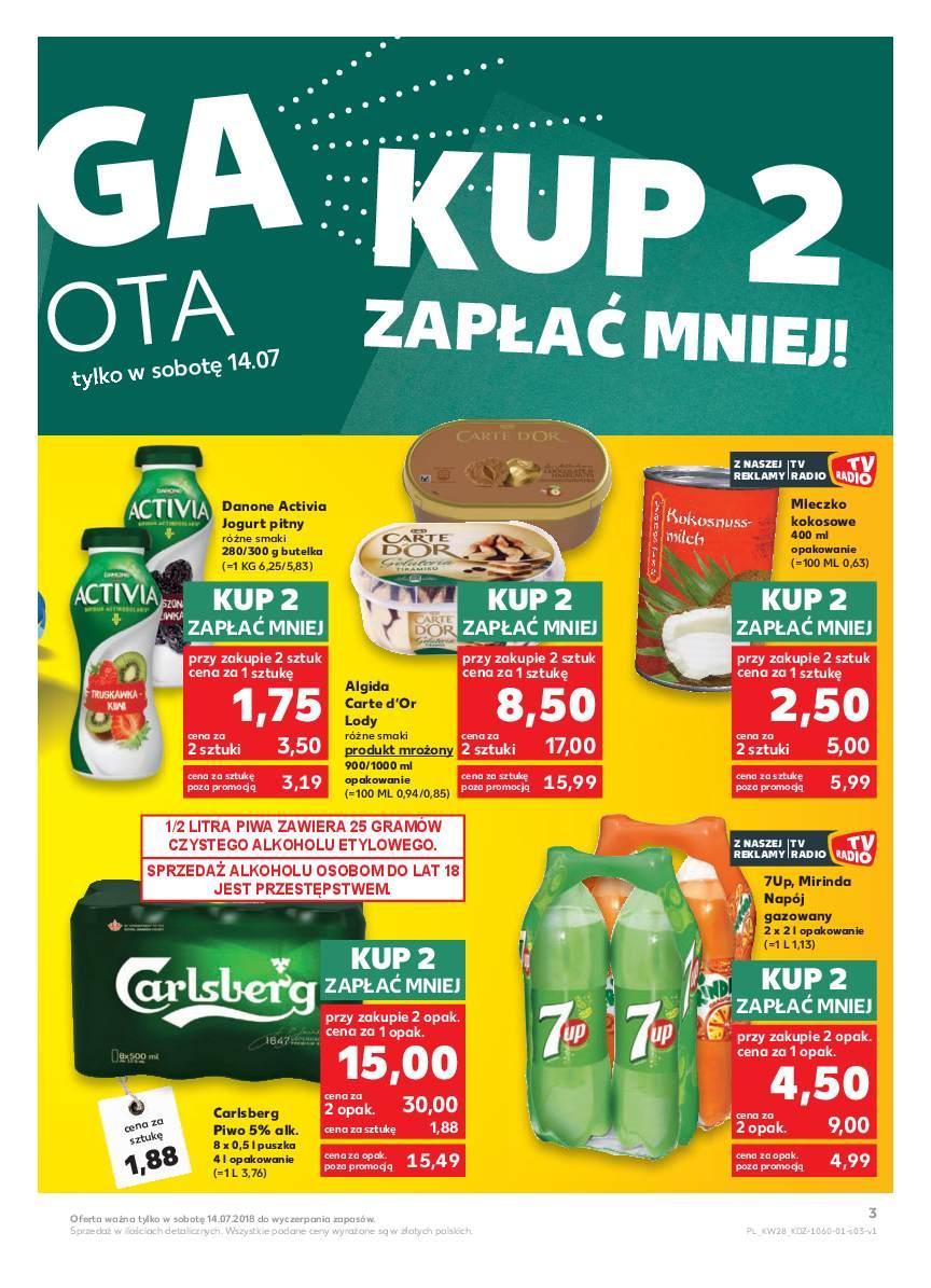 Gazetka promocyjna Kaufland do 18/07/2018 str.2