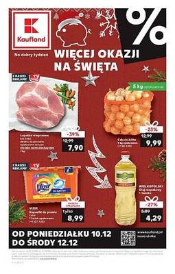 Kaufland gazetka - od 10/12/2018 do 12/12/2018