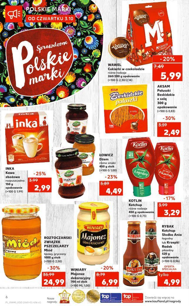 Gazetka promocyjna Kaufland do 09/10/2019 str.5