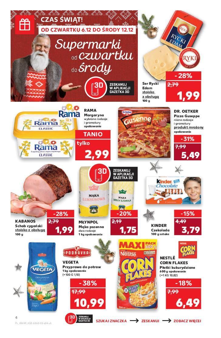 Gazetka promocyjna Kaufland do 12/12/2018 str.4