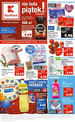 Kaufland gazetka - od 16/05/2019 do 22/05/2019