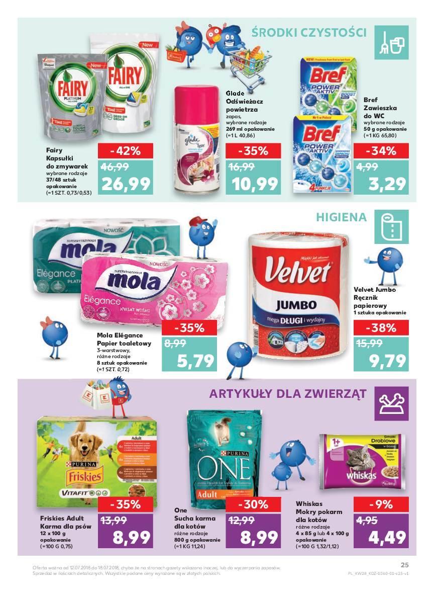 Gazetka promocyjna Kaufland do 18/07/2018 str.25