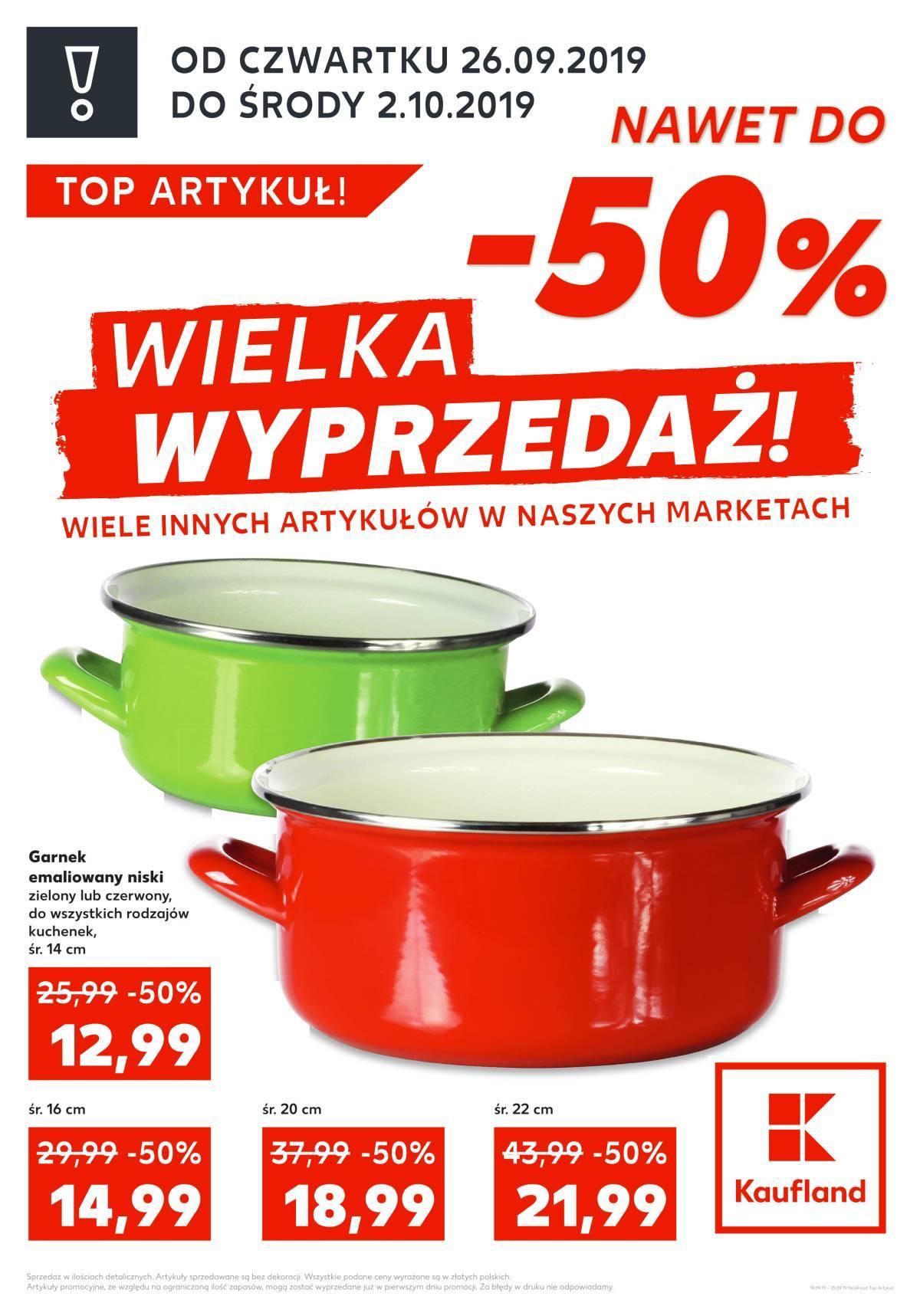 Gazetka promocyjna Kaufland do 02/10/2019 str.1