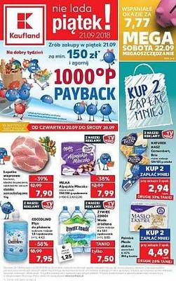 Kaufland gazetka - od 20/09/2018 do 26/09/2018