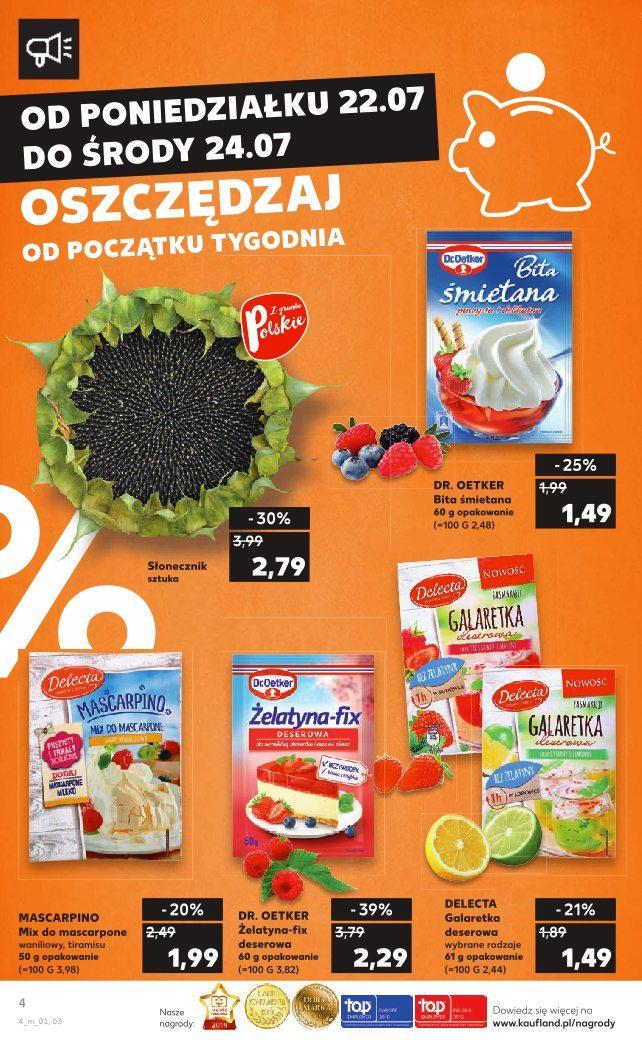 Gazetka promocyjna Kaufland do 24/07/2019 str.4