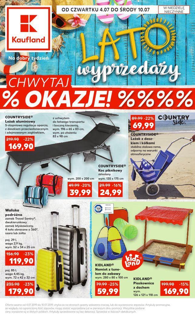 Gazetka promocyjna Kaufland do 10/07/2019 str.0