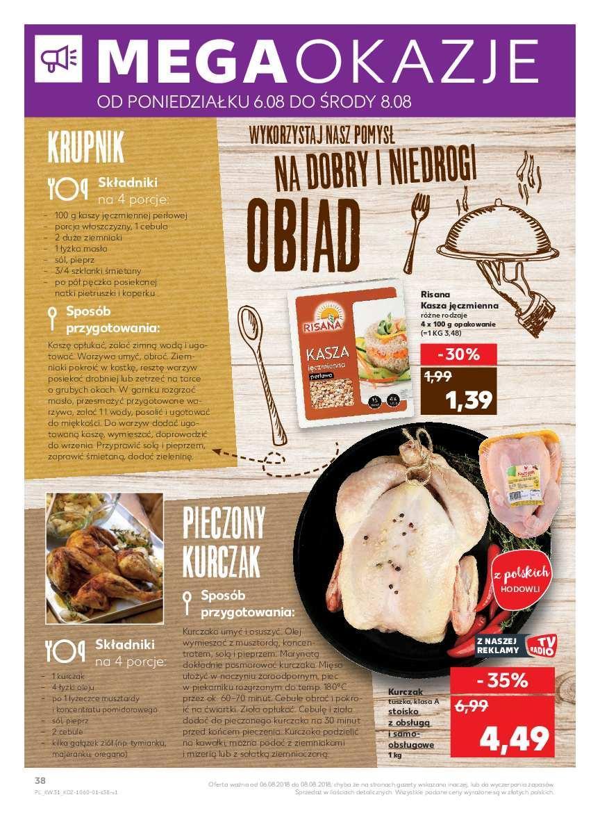 Gazetka promocyjna Kaufland do 11/08/2018 str.2