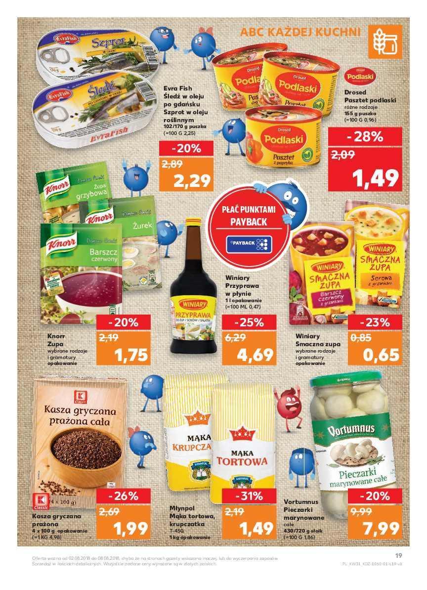 Gazetka promocyjna Kaufland do 08/08/2018 str.19