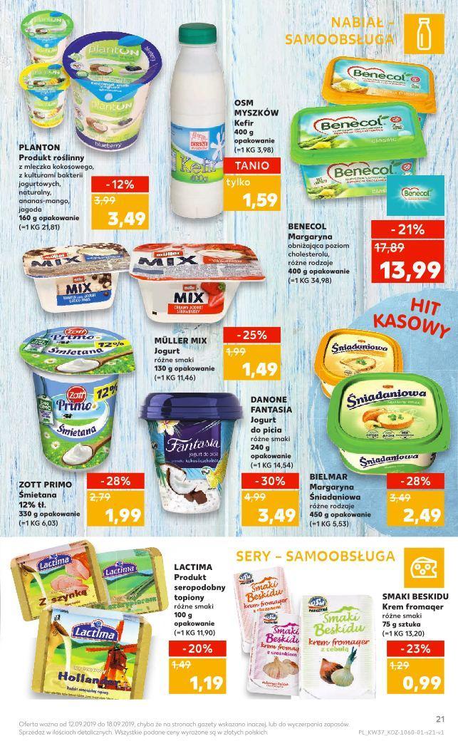 Gazetka promocyjna Kaufland do 18/09/2019 str.21