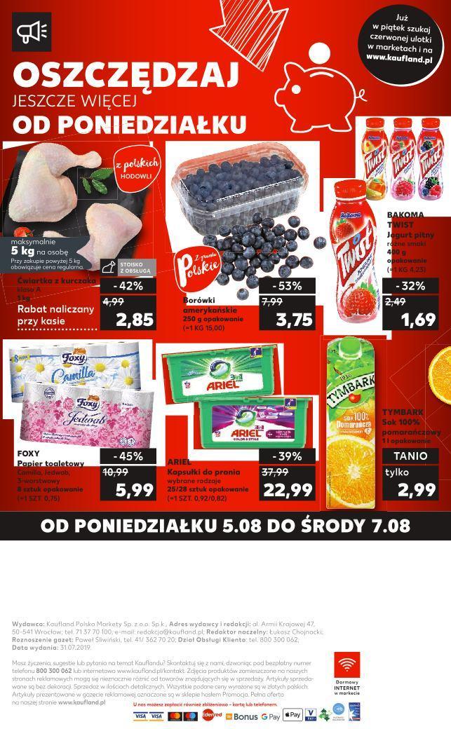 Gazetka promocyjna Kaufland do 07/08/2019 str.31