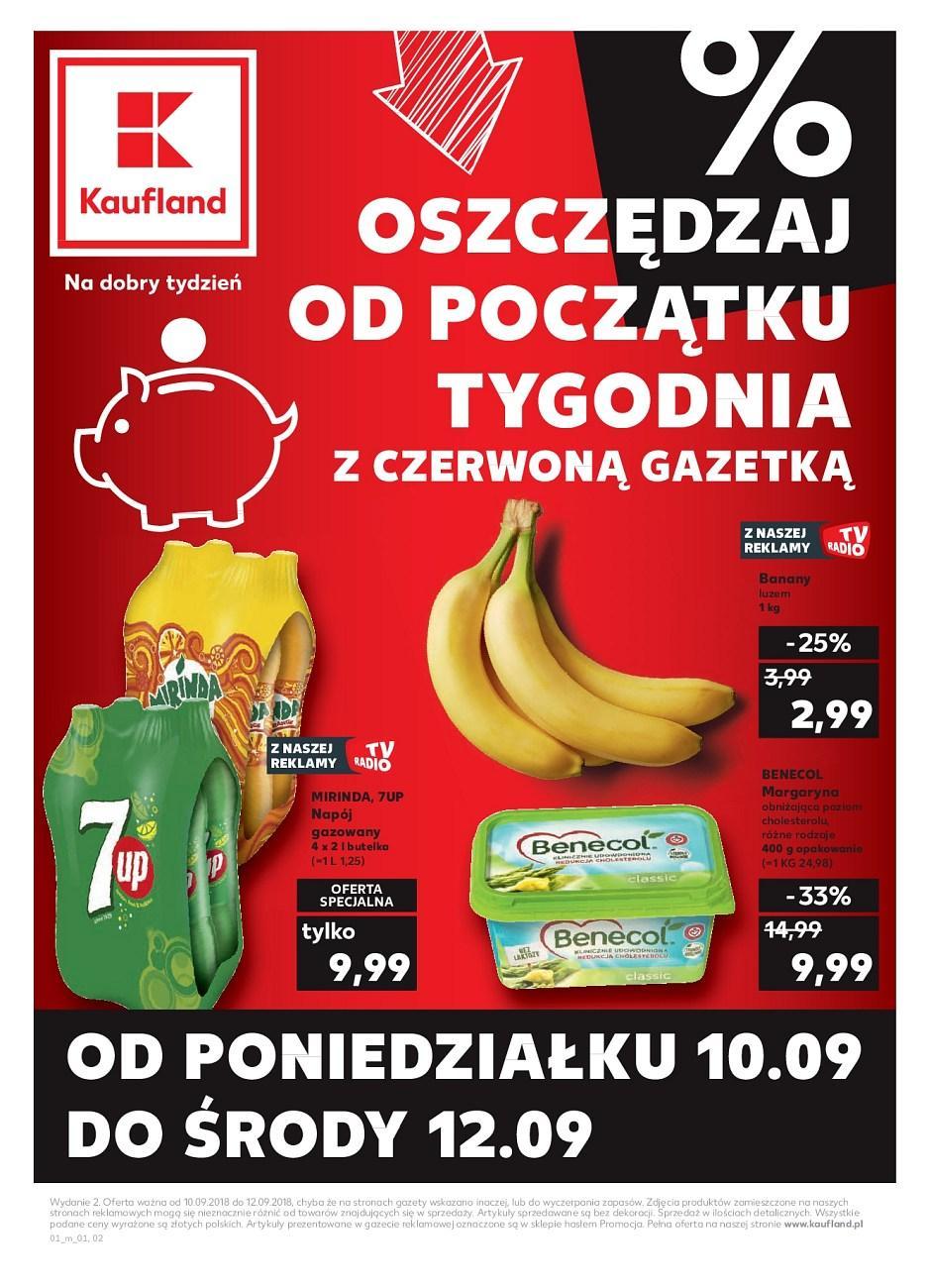 Gazetka promocyjna Kaufland do 12/09/2018 str.0