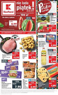 Kaufland gazetka - od 27/06/2019 do 03/07/2019