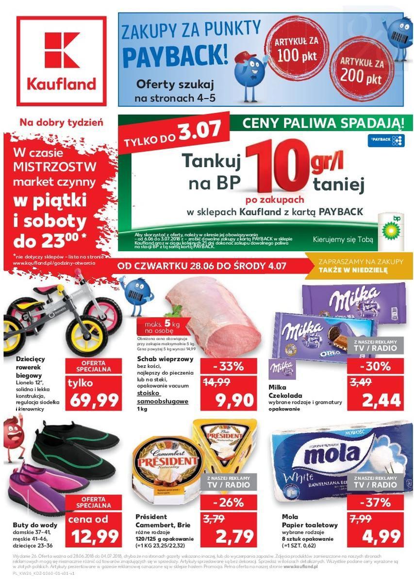 Gazetka promocyjna Kaufland do 04/07/2018 str.0