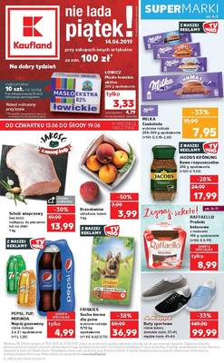 Kaufland gazetka - od 13/06/2019 do 19/06/2019